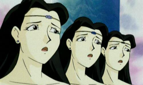 identical surprised women
