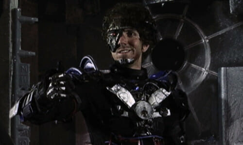 Manborg smiling with thumbs up