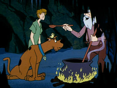Scooby, Shaggy, hermit