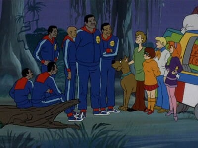 Scooby gang meets Globetrotters