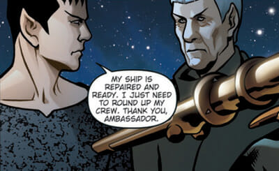 Nero and Spock