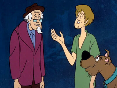 Shaggy and Scooby with Nathaniel