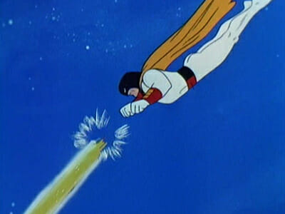 Space Ghost uses power bands