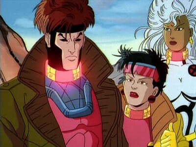 Gambit, Jubilee, and Storm