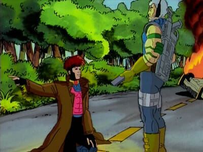 Gambit and Cable