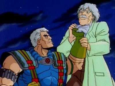 Cable and Dr. Adler