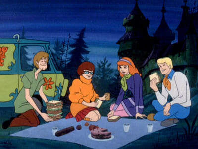 Scooby gang picnic