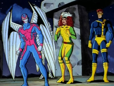 Archangel, Rogue, and Cyclops