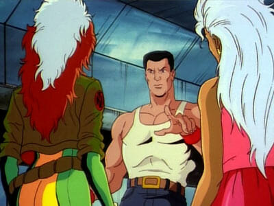 Rogue, Colossus, and Storm