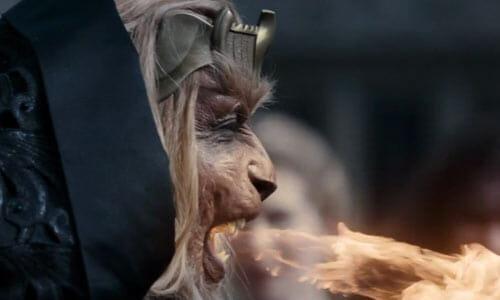 Leandro breathing fire
