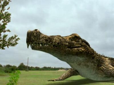 seaQuest prehistoric crocodile