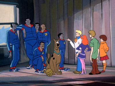 Scooby gang with Globetrotters