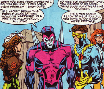 Archangel with X-Men