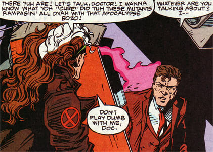 Rogue and Dr. Adler