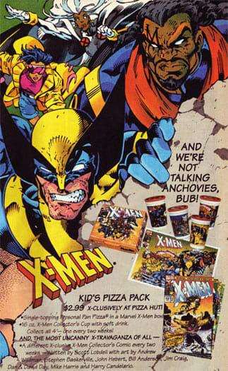 X-Men Pizza Hut Ad