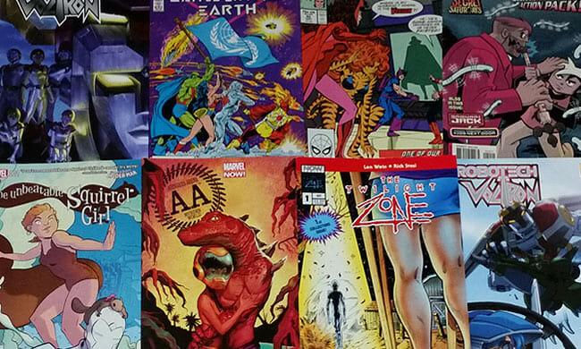 Comic Con Comics
