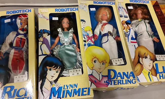 Comic Con Robotech Dolls