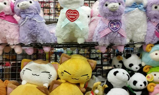 Comic Con Soft Toys