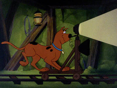 Scooby train