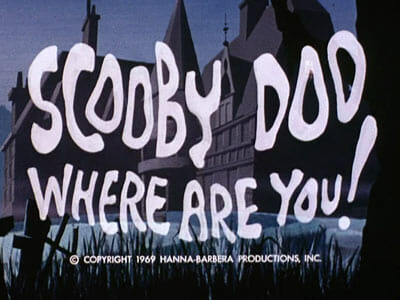 Scooby Doo Where Are You Logo