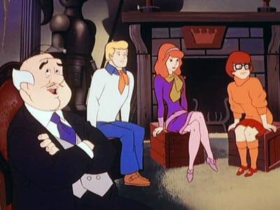 CJ, Fred, Daphne, and Velma