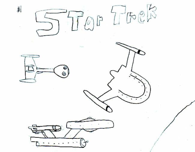 Star Trek Comic 1 Cover