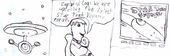 Star Trek Comic 1 Voyager