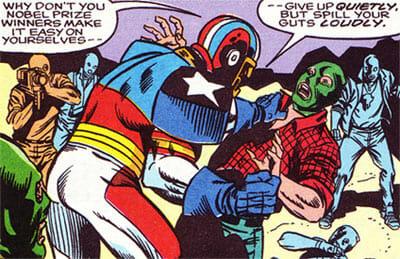 SuperPro fights gang