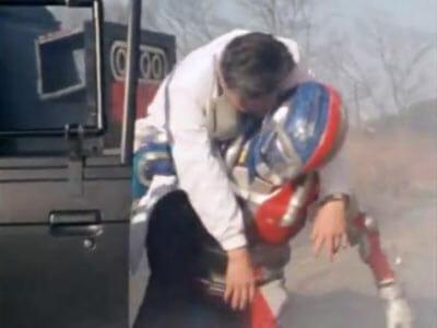 Metalder rescues Dr. Ooda