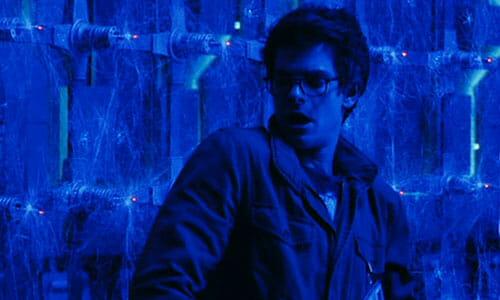 Peter in spider room