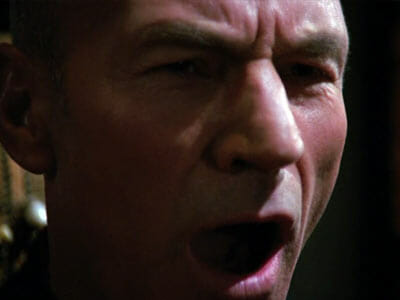 Picard screaming
