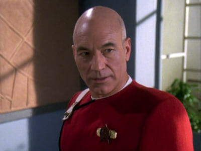 Picard annoyed