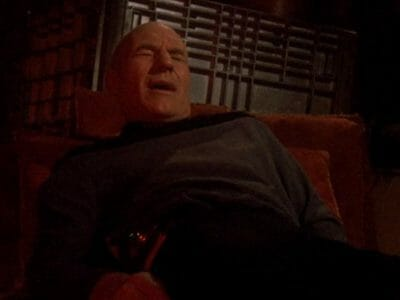 Picard feels an ouch