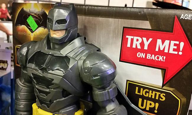 Armored Batman toy