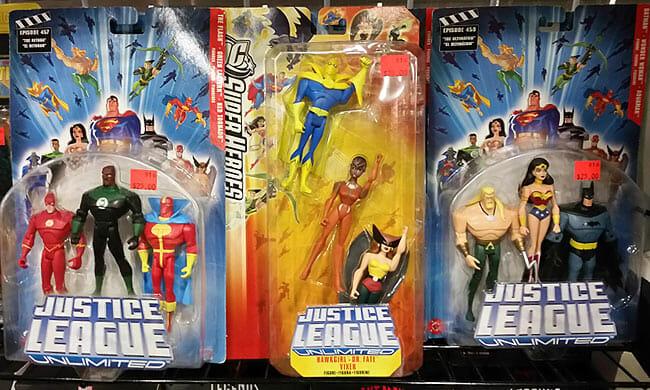 Justice League 3-packs