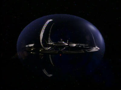 DS9 in bubble