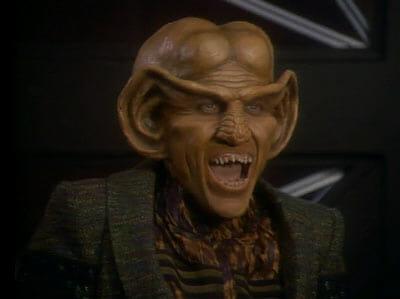 Quark laughing