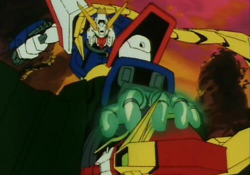 Shining Gundam and Dragon Gundam