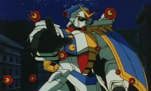 Gundam Rose with rose bits