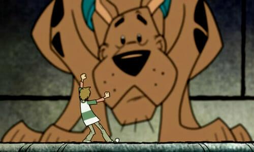Big Scooby, little Shaggy