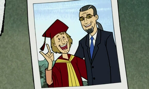 photo of Shaggy and uncle