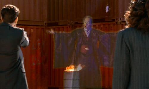Janus hologram with Tek Posse