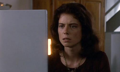 Beth on computer