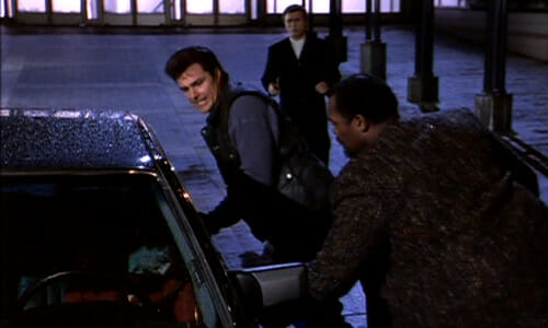 Jake and Sid can't open car door