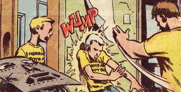 Huey pushing John