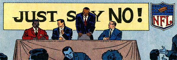 """""""Just Say No"""" banner"""