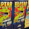 Boxes of Reptar Cereal