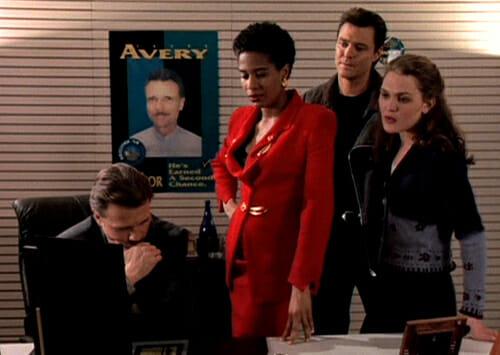 Avery, Vivian, Jake, and Gwen
