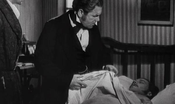 Doctor examining Emile