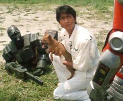 Hakko holding puppy from Bulchek